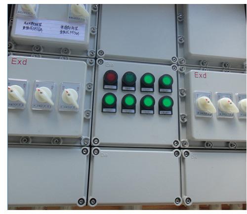 配电箱接触器故障灯接线图